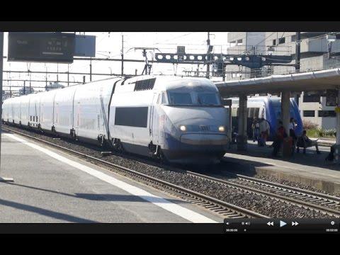 France: Trains at St Pierre Des Corps Station, Tours