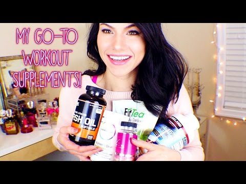 My GO-TO Workout Supplements!