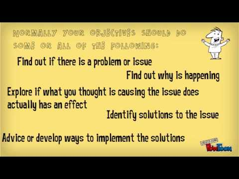 How To Write Research Objectives!   YouTube  How To Write An Objective