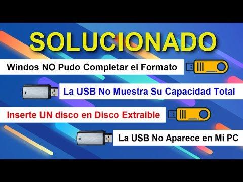 Cómo REPARAR Una Memoria USB, SD Y Micro SD│Como Arreglar Mi Memoria USB, SD, Micro SD