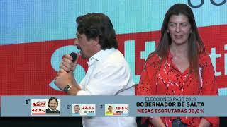 Video: Amplio triunfo de Gustavo Saénz en las PASO provinciales