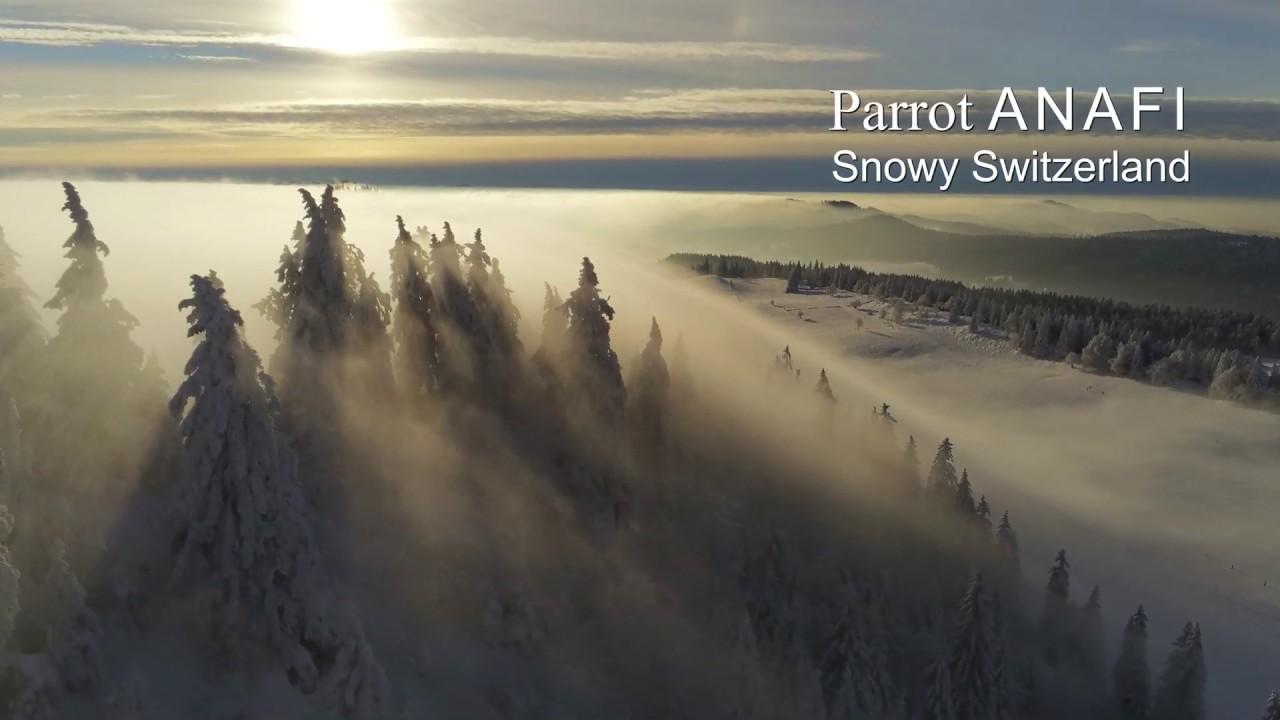 Parrot Anafi Winter Video | Autel Drone Forum
