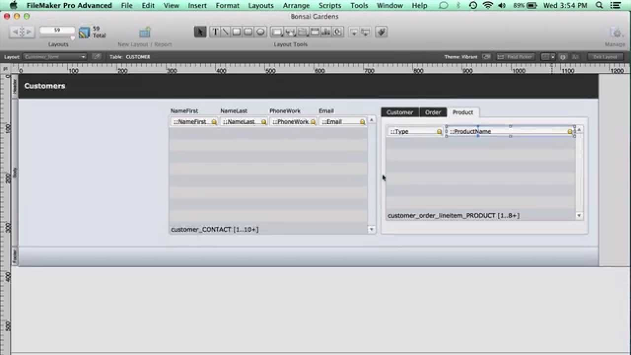 Filemaker Pro Courses filemaker pro 12 training: can i use tab controls to