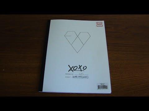 [UNBOXING] EXO K- XOXO The 1st Album (Kiss Version)