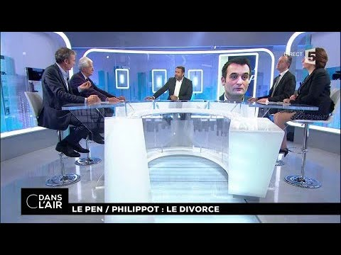 Le Pen / Philippot : le divorce #cdanslair 21.09.2017
