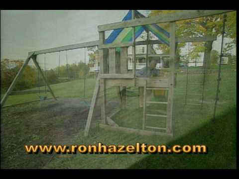 How To Make Your Childrenu0027s Outdoor Swing Set/Playset Safe   YouTube