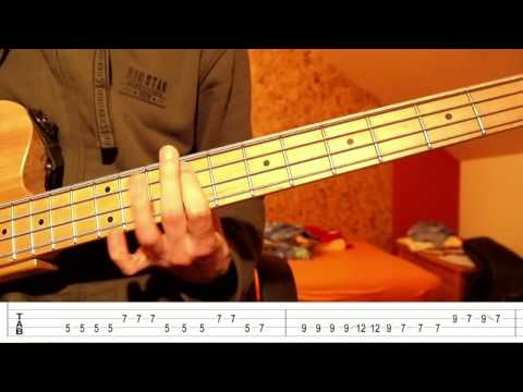 Two Door Cinema Club - Undercover Martyr (Bass Tutorial with TABS)