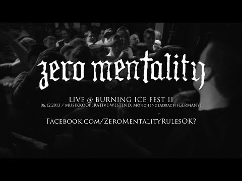 Zero Mentality Live @ Burning Ice Fest 2013 (HD)
