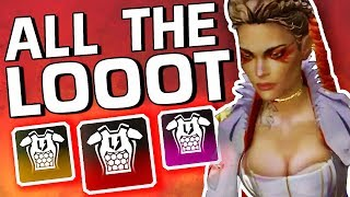 ALL THE LOOT !! NEW LEGEND IS INSANE!! - Apex Legends