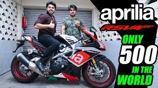 #Aprilia #LimitedEdition Living with it Ep. No. 16 | Aprilia RSV4 RF !!! | 1 OF 500 IN THE WORLD !!