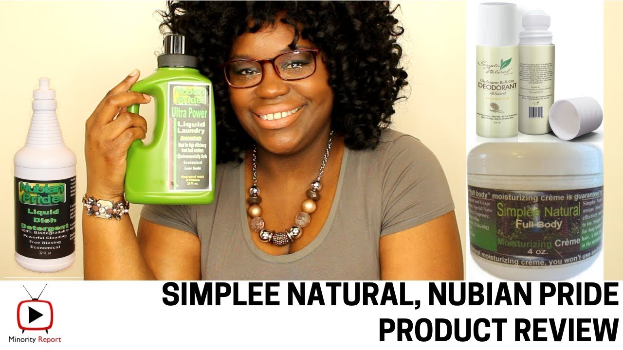 Product Review | Simplee Natural & Nubian Pride
