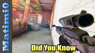 Did You Know - Rainbow Six Siege - Shifting Tides