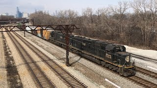 Chasing an IC SD70 Pair Through Chicago on the Ex Illinois Central Main
