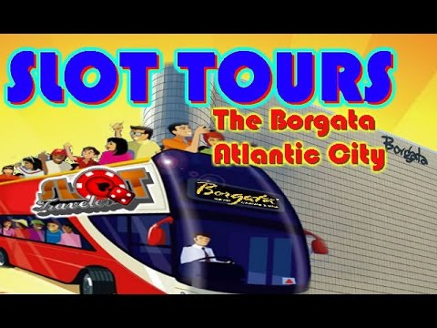 SLOT TOURS The Borgata Atlantic City HIgh Limit Max Bets - Borgata car show