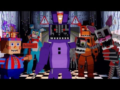 Minecraft | FIVE NIGHTS AT FREDDY'S MOD Showcase! (Five Nights at Freddy's Maze, Withered Bonnie)