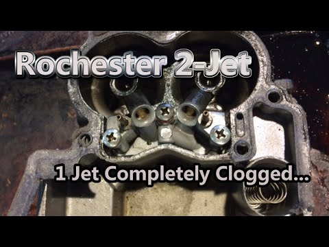 Rochester 2 Jet Disassembly and Cleaning