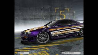Need For Speed ProStreet customized cars #2