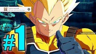 Dragon Ball FighterZ - Online Ranked Matches #1 @ 1080p (60ᶠᵖˢ) HD ✔