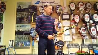 Обзор теннисной ракетки Babolat Pure Aero(Характеристики ракетки Рафаэля Надаля., 2016-04-26T11:29:48.000Z)