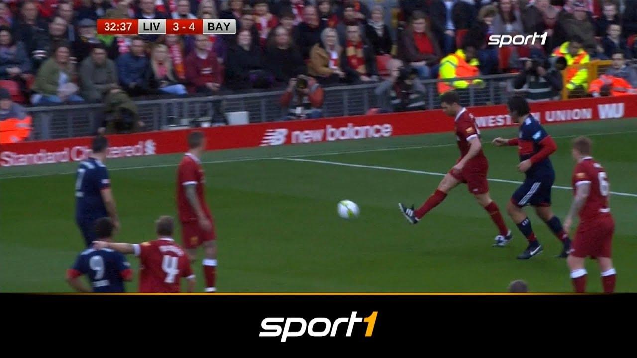 Doppelter Xabi Alonso Krasser Patzer Bei Liverpool Traumtor Für