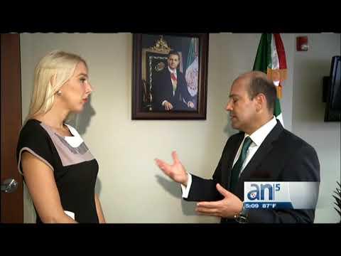 Consul general de Mexico en Miami pide ayuda para los damnificados del terremoto