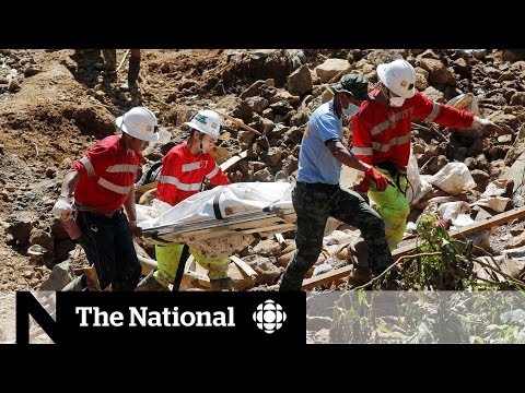 CBC News: The National: Typhoon leaves death and destruction from Philippines to Hong Kong