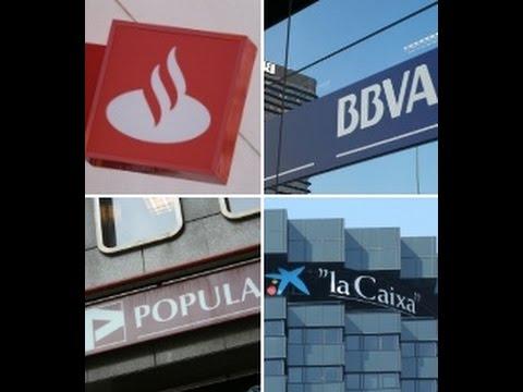 BANCO SANTANDER,BBVA,CAIXABANK, SABADELL, BANKIA, POPULAR. Resultados. Por Cesar Chiva