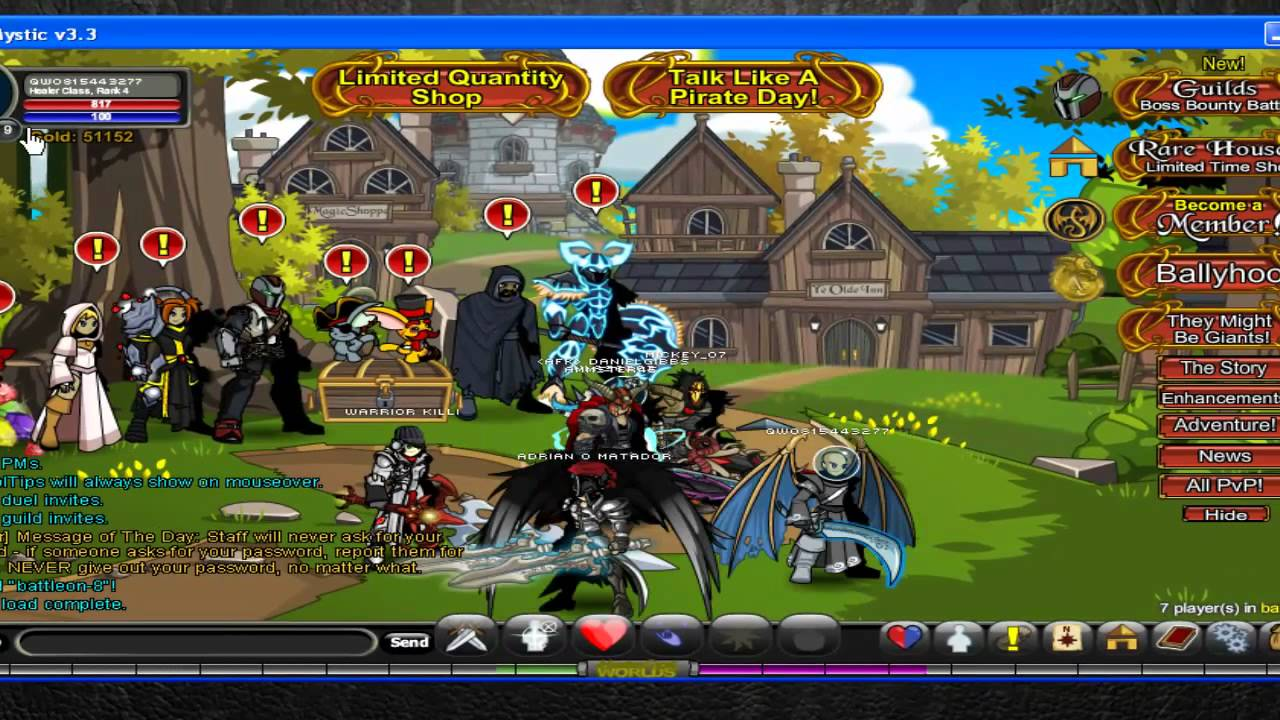 Adventure quest worlds aqw cheats hack tool 2013 calendar