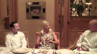 Andrea restaurant, The Resort Pelican Hill, Chefs Jean-Pierre Dubray & Luca Cesarini -- Sophie Gayot