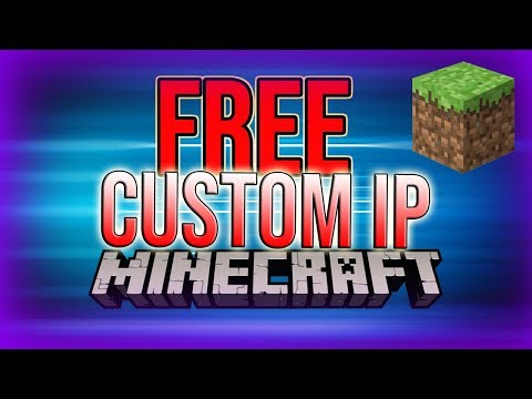 FREE Custom IP For Minecraft Servers