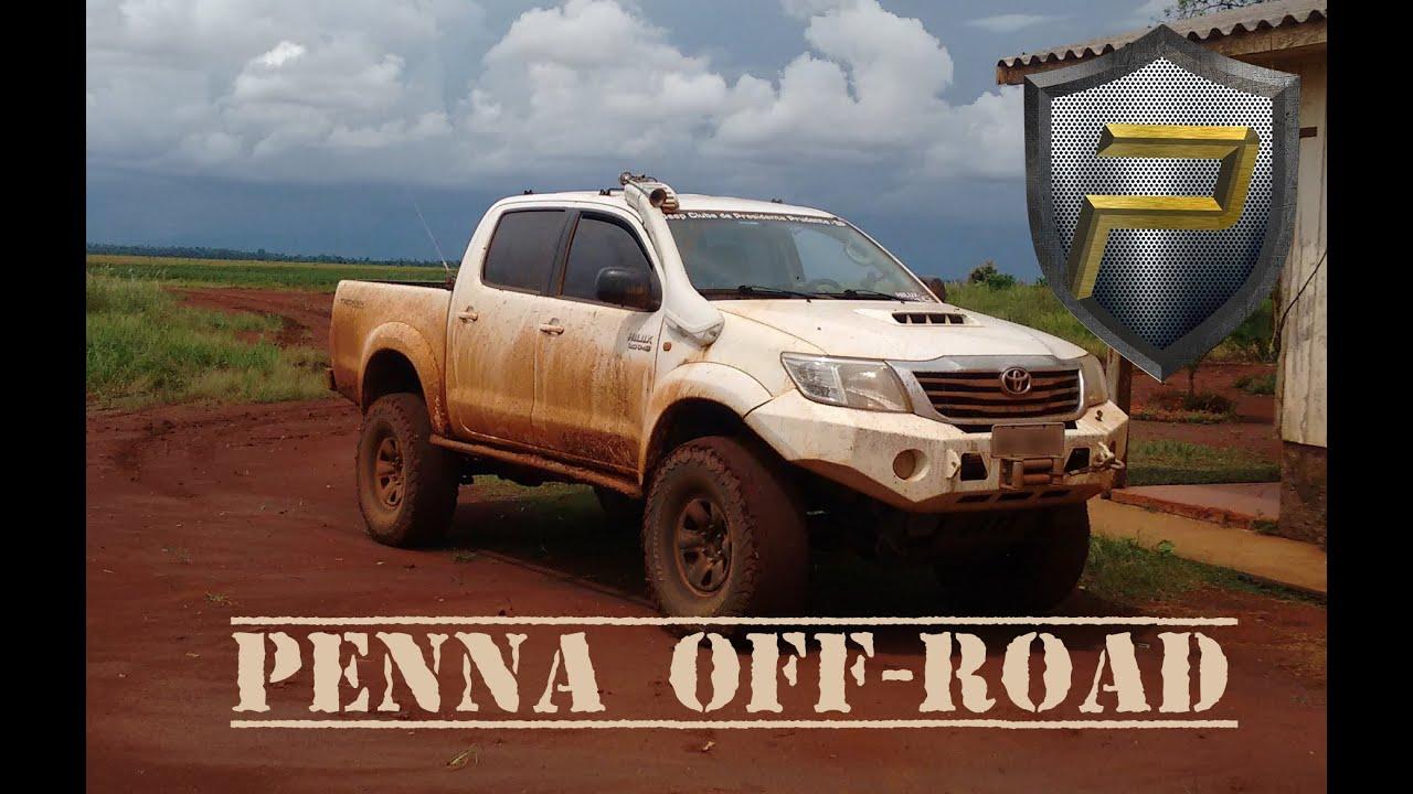 Road Rhino Bumper >> Penna Off-Road: Toyota Hilux - YouTube