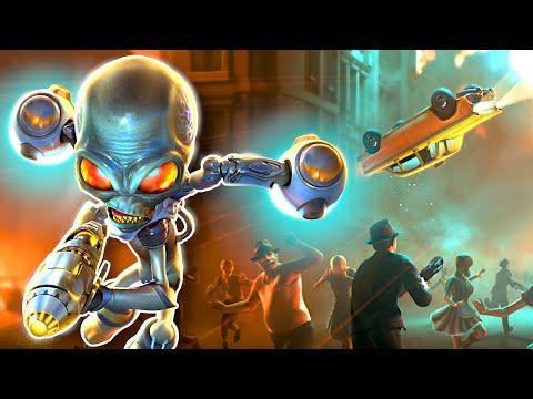 I Became an Alien & Destroyed Everything! – Destroy All Humans Remake Gameplay