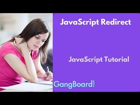 JavaScript Redirect | JavaScript Tutorial For Beginners thumbnail