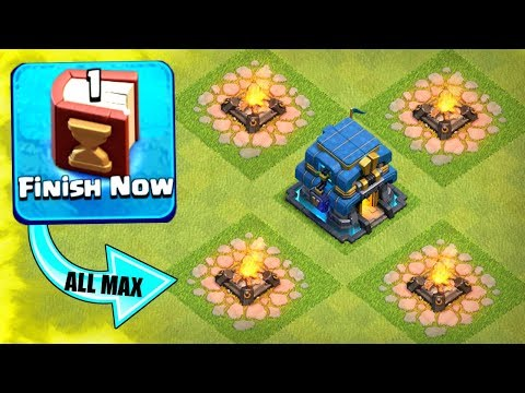 FINALLY ALL MAX LEVEL!! - USING 2 MAGIC ITEMS AT ONCE! - Clash Of Clans