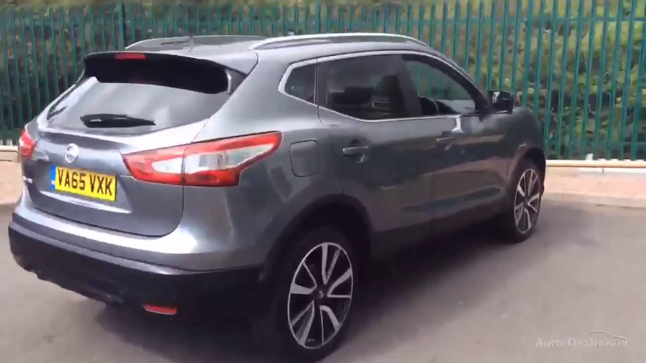 nissan qashqai dci tekna grey 2016 youtube. Black Bedroom Furniture Sets. Home Design Ideas