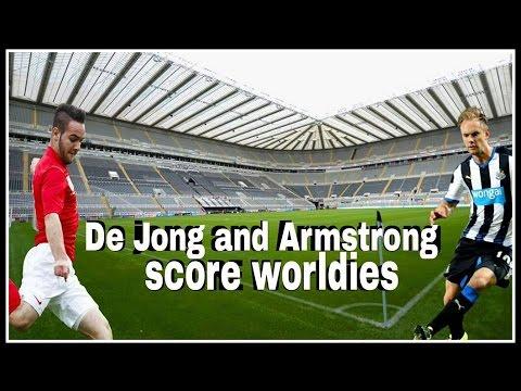 Siem De Jong & Adam Armsrong both score worldies!