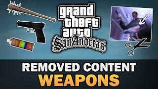 GTA San Andreas - Beta Weapons [Analysis]