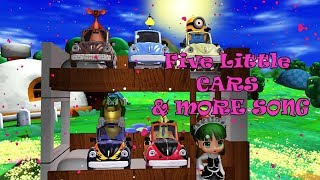 Five Little Car & More Song
