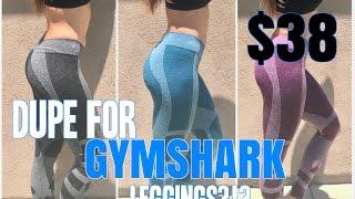 DUPE FOR GYMSHARK LEGGINGS   Review & Try On   Gymshark Clothing