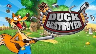 trò chơi Cáo săn bắn vịt trời Duck destoyer - cu lỳ chơi game