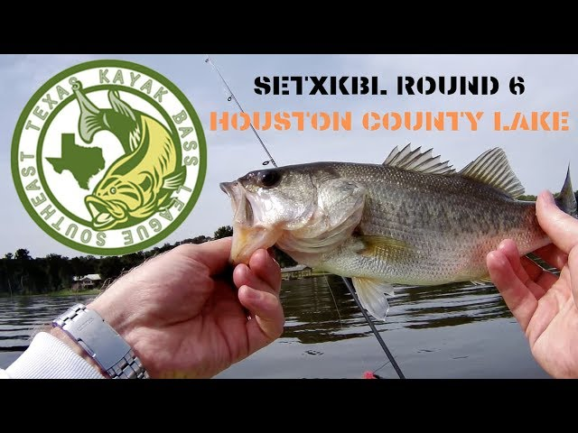 SETXKBL Round 6 Houston County Lake Kayak Bass Fishing Tournament - 2019