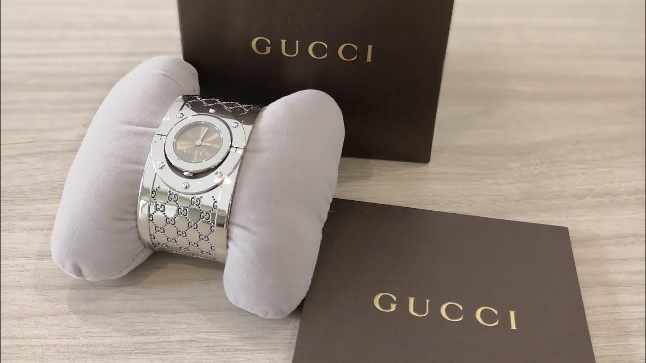789e742bcdd รีวิวนาฬิกากุชชี่ Gucci 112 Twirl Lady Watches Series Unbox ...