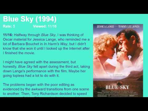 Movie Review: Blue Sky (1994) [HD]