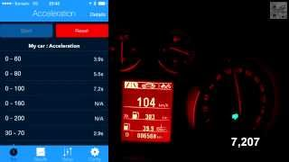 Insignia Country vs Insignia OPC (sedox) Acceleration 0-100 km/h