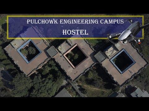 Pulchowk Campus Hostel Drone shot