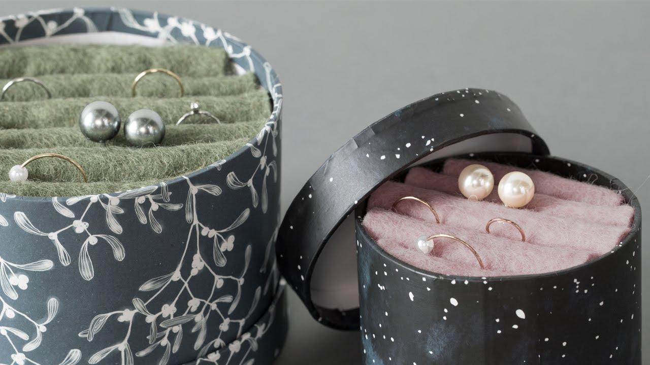 DIY : Jewellery box by Søstrene Grene - YouTube