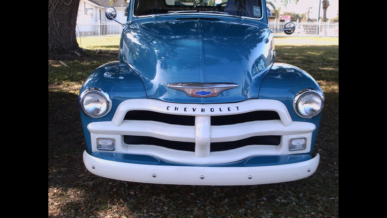 1955 chevy 3100 1st series chevrolet chevy trucks for - 1955 Chevy 3100 Half Ton Pickup Series 1 Blu Tavaresharleydavidson013115