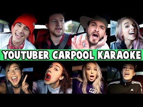 CARPOOL KARAOKE w/ Kian, Gabbie, Zane, Tana, James, Miranda, Trevor & MORE