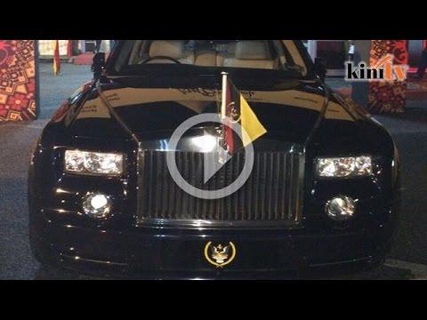 Taib Mahmud 'dapat hadiah' Rolls-Royce RM3.7juta
