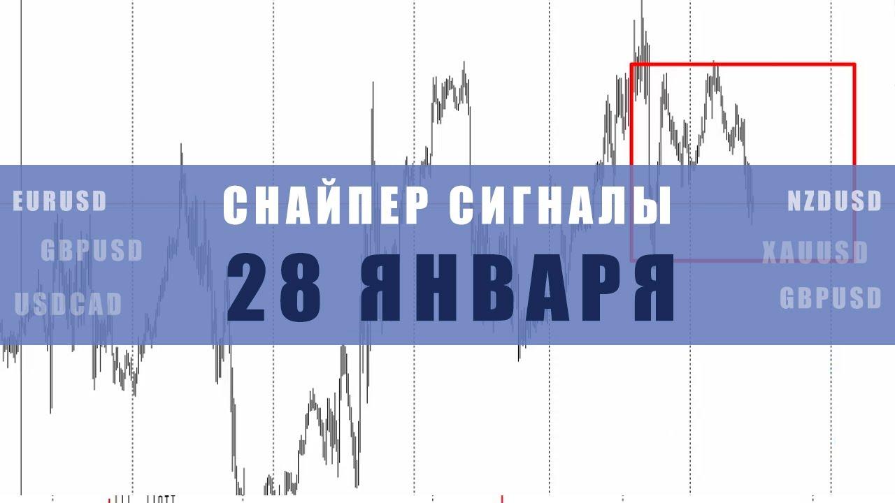 СИГНАЛЫ СНАЙПЕР НА 28 ЯНВАРЯ  | Трейдер Максим Михайлов